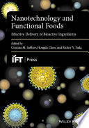 Nanotechnology and Functional Foods