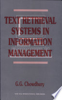 Text Retrieval Systems In Information Management