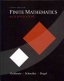 Finite Math& Its Applctns&stdnt Sols Mnl Pk