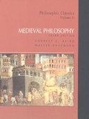 Philosophic Classics  Medieval philosophy
