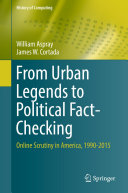 Pdf From Urban Legends to Political Fact-Checking