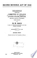 Second Revenue Act of 1940