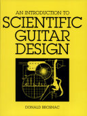 An Introduction to Scientific Guitar Design