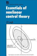 Essentials of Nonlinear Control Theory