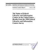 Status of Federal Libraries and Information Centers in the U.S