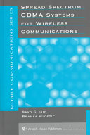 Spread Spectrum CDMA Systems for Wireless Communications Book