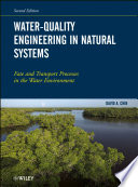 Water Quality Engineering in Natural Systems Book PDF