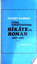 Türk edebiyatında hikâye ve roman
