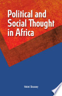 Political and Social Thought in Africa Book PDF