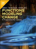 Connally  Functions Modeling Change  Sixth Edition Book