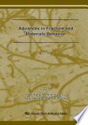 Advances In Fracture And Materials Behavior Book PDF