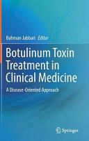 Botulinum Toxin Treatment in Clinical Medicine Book