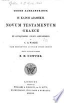 Codex Alexandrinus Book