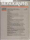 Monographs Journal of the National Cancer Institute  No  22  1997 Book