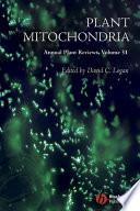 Annual Plant Reviews Plant Mitochondria