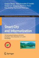 Smart City and Informatization