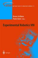 Experimental Robotics VIII