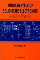 Fundamentals of Solid-State Electronics Pdf/ePub eBook