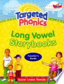 Targeted Phonics Long Vowel Storybooks  Book