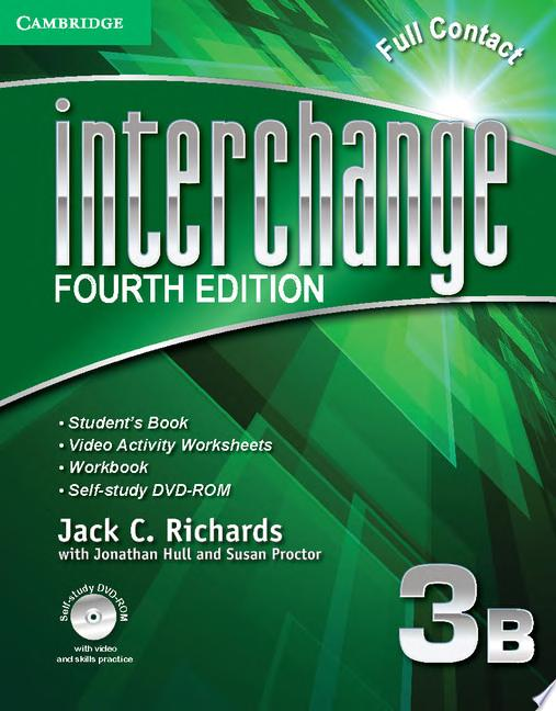 Interchange Level 3 Full Contact B with Self study DVD ROM