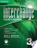 Interchange Level 3 Full Contact B with Self-study DVD-ROM