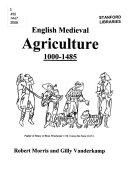 English Medieval Agriculture  1000 1485
