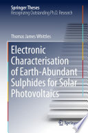Electronic Characterisation of Earth‐Abundant Sulphides for Solar Photovoltaics
