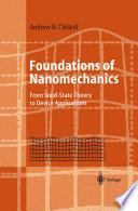 Foundations Of Nanomechanics Book PDF
