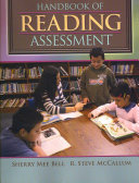 Handbook Of Reading Assessment Book