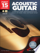 First 15 Lessons   Acoustic Guitar