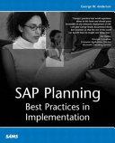 SAP Planning Book
