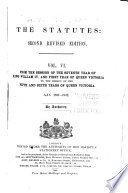The Statutes, Second Revised Edition