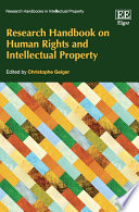 Research Handbook on Human Rights and Intellectual Property Book