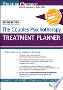The Couples Psychotherapy Treatment Planner  with DSM 5 Updates Book