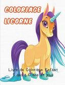 Coloriage Licorne ebook