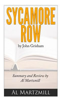 Sycamore Row by John Grisham Summary