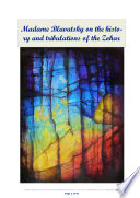 Madame Blavatsky on the history and tribulations of the Zohar