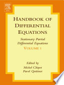 Handbook of Differential Equations  Stationary Partial Differential Equations