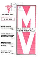 The Maryland Veterinarian