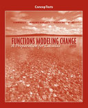 ConcepTests t a Functions Modeling Change Book