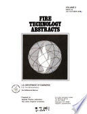 Fire Technology Abstracts Book