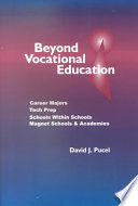 Beyond Vocational Education Book