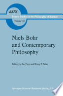 Niels Bohr And Contemporary Philosophy Book PDF