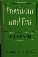 Providence and Evil