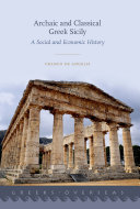 Archaic and Classical Greek Sicily