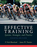 Cover of Effective Training