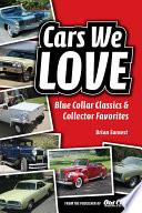 Cars We Love Book