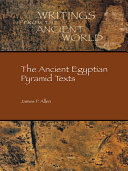 The Ancient Egyptian Pyramid Texts Pdf/ePub eBook