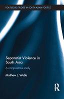 Separatist Violence in South Asia Pdf/ePub eBook