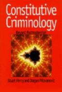 Constitutive Criminology